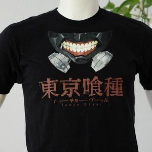 American Apparel Shirts - Funimation Tokyo Ghoul Mask T-Shirt Men's M